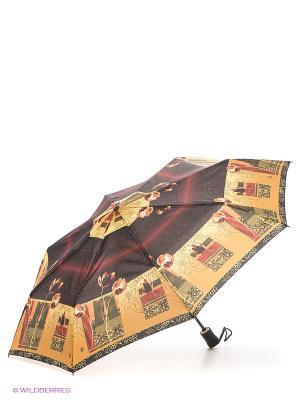 Зонт Airton. Цвет: бежевый, черный, зеленый