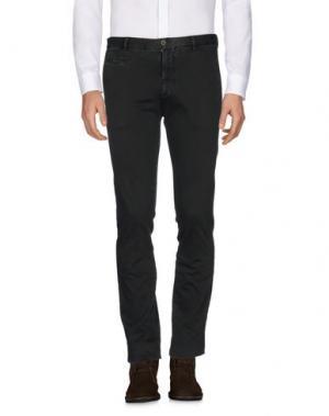 Повседневные брюки ALTEA. Цвет: темно-зеленый