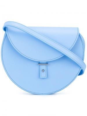 Круглая сумка через плечо Pb 0110. Цвет: синий