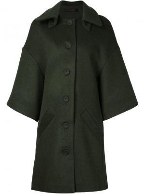 Пальто Concord Jean Pierre Braganza. Цвет: зелёный