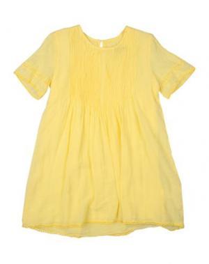 Платье EUROPEAN CULTURE. Цвет: желтый