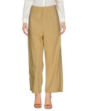 Повседневные брюки NOLITA. Цвет: песочный