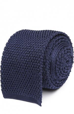 Вязаный галстук Tom Ford. Цвет: темно-синий