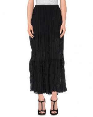 Длинная юбка TO-MAY. Цвет: черный
