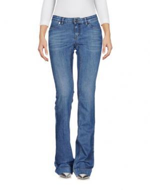 Джинсовые брюки I BLUES. Цвет: синий
