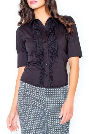 Рубашка Figl. Цвет: black
