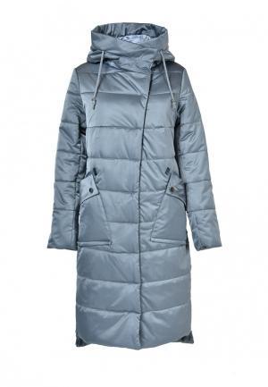 Куртка утепленная Grafinia. Цвет: серый