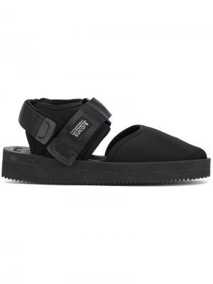 Closed toe sandals Suicoke. Цвет: чёрный