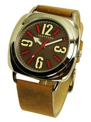 Часы TOKYObay. Цвет: коричневый