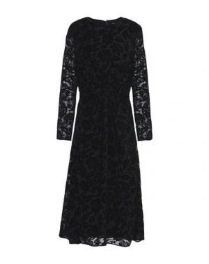 Платье длиной 3/4 8. Цвет: черный