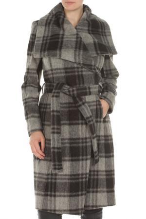 Пальто BCBG. Цвет: 12, charcoal