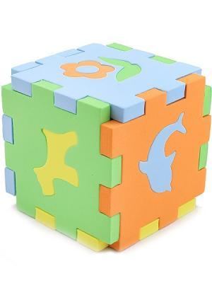 Кубик Мозаика Силуэты БОМИК. Цвет: синий, зеленый, красный