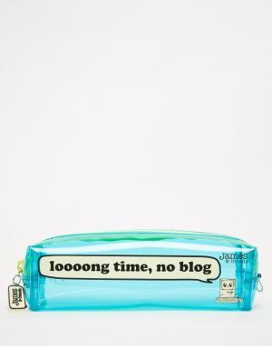James & Friends Компактный пенал для карандашей. Цвет: мульти