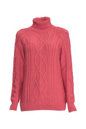 Джемпер из шерсти с шелком 136700 Sweet Sweaters. Цвет: красный