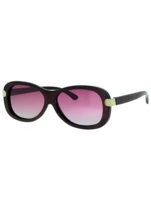 Очки TM0049-R-17-B BAMBOO TEHMODA. Цвет: розовый