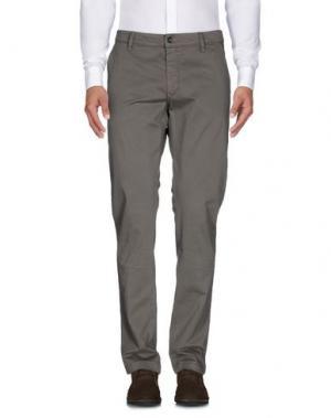 Повседневные брюки HEAVEN TWO. Цвет: зеленый-милитари