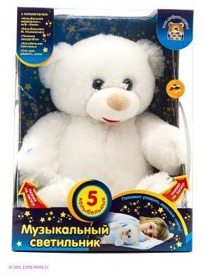 Интерактивный лунный медвежонок Мульти-Пульти. Цвет: белый
