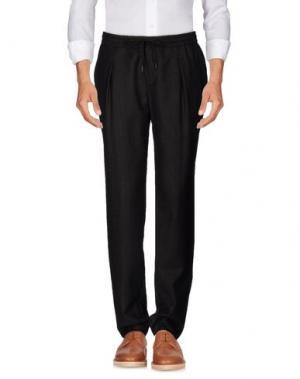 Повседневные брюки BRIAN DALES. Цвет: темно-коричневый