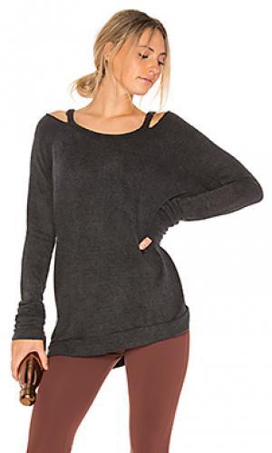 Пуловер с рукавами реглан enchilada Indah. Цвет: серый