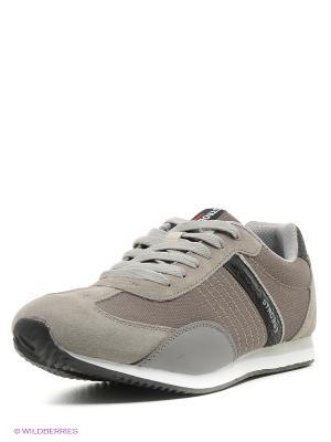 Кроссовки STROBBS. Цвет: серый