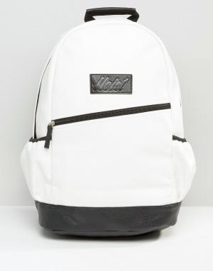 Heist Черно-белый рюкзак. Цвет: белый