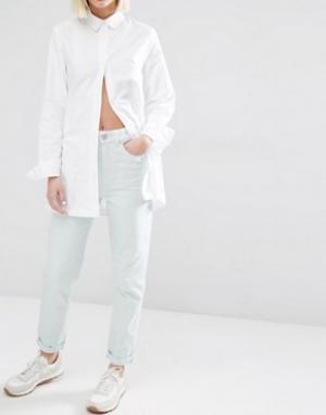 Waven Джинсы в винтажном стиле Elsa. Цвет: зеленый