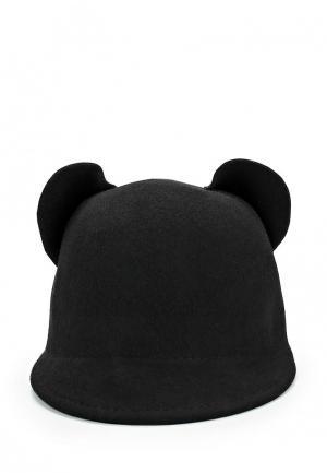 Шляпа Diva. Цвет: черный