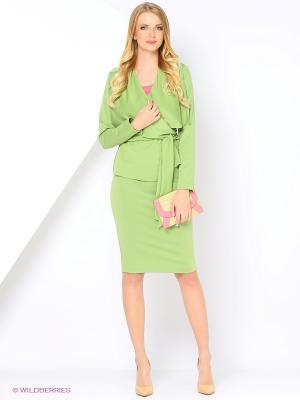 Жакет RUXARA. Цвет: зеленый