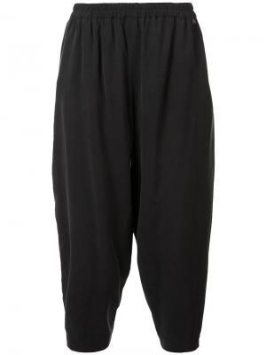 Зауженные брюки с заниженной проймой Toogood. Цвет: чёрный