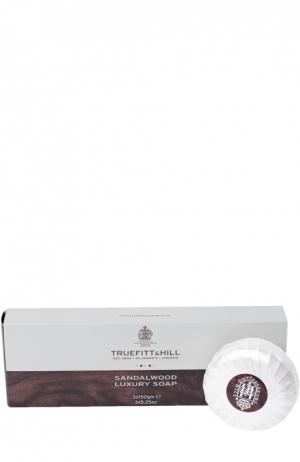 Набор Мыло для бритья Sandalwood Truefitt&Hill. Цвет: бесцветный