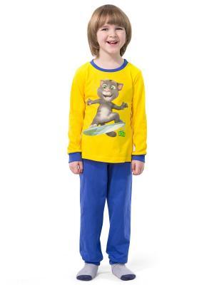 Пижама Talking Tom. Цвет: синий, желтый