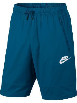 Шорты M NSW AV15 SHORT WVN Nike. Цвет: синий, бирюзовый