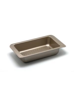 Форма для выпечки 31,2х16х6 см Zanussi. Цвет: бронзовый