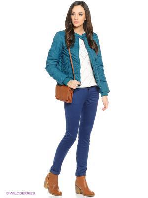 Куртка SELA. Цвет: бирюзовый