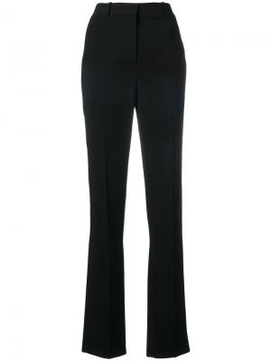 Классические расклешенные брюки Givenchy. Цвет: чёрный