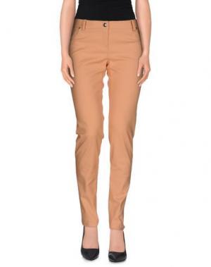 Повседневные брюки BETTY BLUE. Цвет: оранжевый