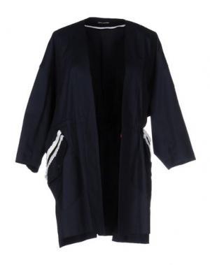 Легкое пальто NINEMINUTES. Цвет: темно-синий