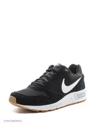 Кроссовки NIGHTGAZER Nike. Цвет: черный, антрацитовый, молочный
