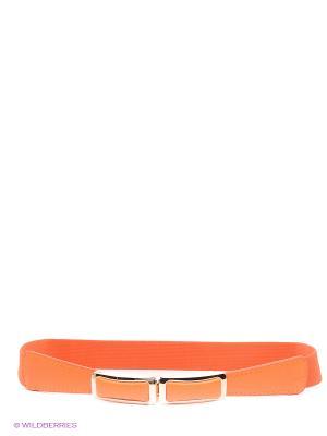 Пояс Vittorio Richi. Цвет: оранжевый