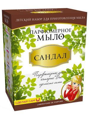 Мыло парфюмированное Сандал Master IQ2. Цвет: зеленый