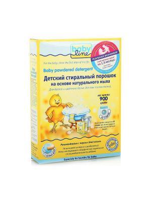 Детский стиральный порошок BABYLINE, 900 гр. Babyline. Цвет: желтый