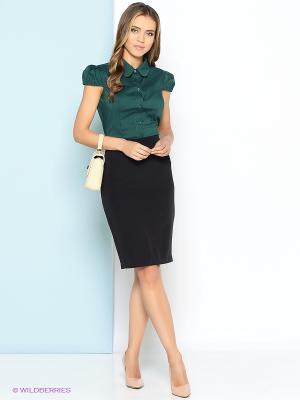 Блузка Stets. Цвет: зеленый