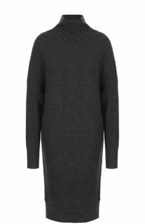Удлиненный вязаный пуловер из кашемира FTC. Цвет: серый