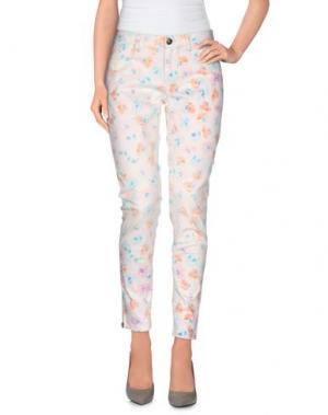 Повседневные брюки 0039 ITALY. Цвет: абрикосовый