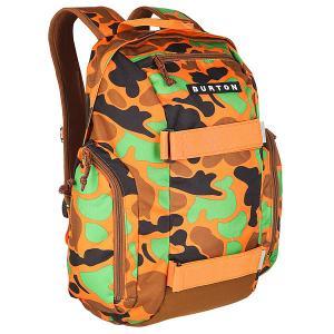 Рюкзак спортивный детский  Metalhead Duck Hunter Camo Burton. Цвет: оранжевый,коричневый,черный,зеленый