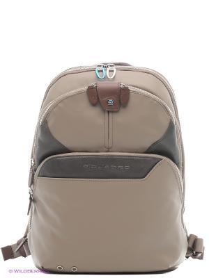 Рюкзак PIQUADRO. Цвет: бежевый