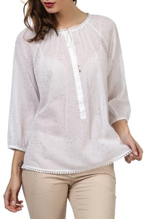Блузка REPEAT. Цвет: белый
