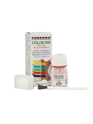 Краситель  для гладкой кожи TDC01 COLOR DYE, стекло, 25мл. (043 бледно-лиловый) Tarrago. Цвет: лиловый