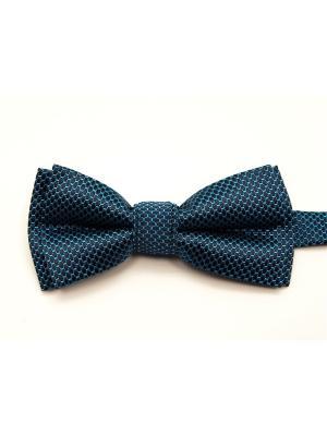Бабочка Angelo Bonetti. Цвет: темно-синий, голубой