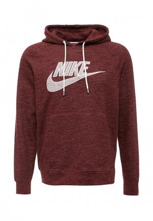 Худи Nike. Цвет: бордовый